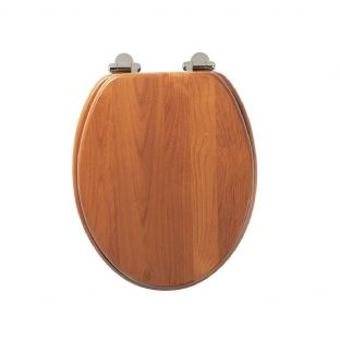 Roper Rhodes - Traditional Soft Close Toilet Seat (Antique Pine) - 8081ASC